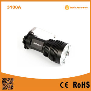 Xml T6 LED 1000 Lumen Powerful Flashlight Strong Light Torch pictures & photos