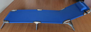 Steel Adjusting Folding Bed for Beach (ET-GF116A) pictures & photos