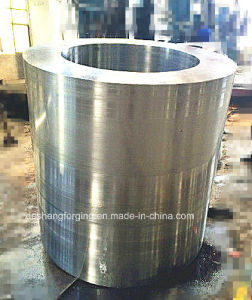 Hydraulic Press Sleeve Heavy Steel Forgings with ASTM En DIN GB Standard
