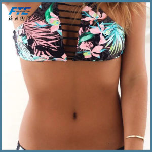 Push up Swimwear Women Swimsuit Retro Vintage Bikini pictures & photos