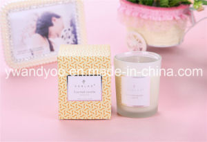 Frosted Glass Jar 175g Natural Wax Scented Candle pictures & photos