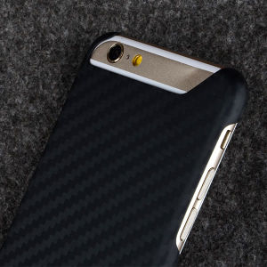 Carbon Fiber Rubberized Ultra-Slim Cover for Apple iPhone 6 pictures & photos