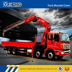 XCMG Sq16zk4q 16ton Folding-Arm Truck Mounted Crane for Sale pictures & photos