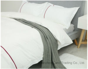 Luxury Cotton Hotel Bedding Set Bed Sheet with Smart Pattern pictures & photos