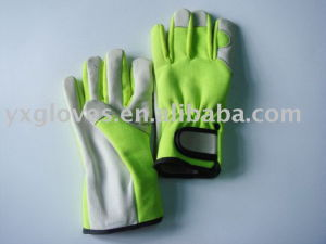 Garden Glove-Leather Glove-Industrial Glove-Protected Glove pictures & photos