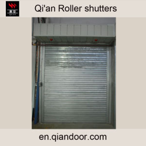 Automatic Water-Spray Steel Fire Roller Shutter pictures & photos