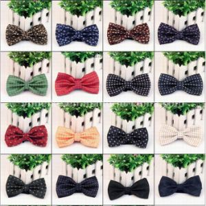 High Quality Jacquard Designs Men′s Neckwear Bowties Wholesale pictures & photos