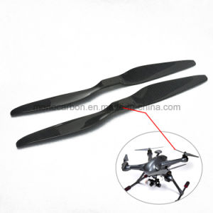 Uav Component 100% Real Carbon Fiber Material Plane Propeller pictures & photos