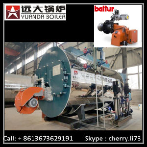 Wns 3-Pass Wet Back Fire Tube Gas Steam Boiler pictures & photos