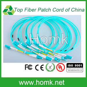 LC-LC Om3 Fiber Optic Patch Cord Duplex pictures & photos