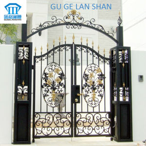 High Quality Crafted Wrought Iron Gate/Door 044 pictures & photos
