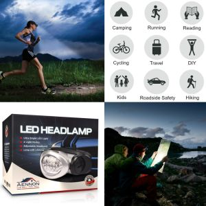 Mini Headlamp Flashlight with Red LED Light Super Bright Lightweight & Comfortable Easy to Use Headlight pictures & photos