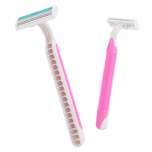 Triple Blade Stainless Steel Disposable Razor for Lady (JG-T800)