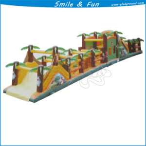 Inflatable Obstacle Course with Slider, Jumping, Bouncer, Climbing etc pictures & photos