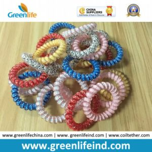 Phone Cord Beatuiful Colors Wrist Coil Strap Holders