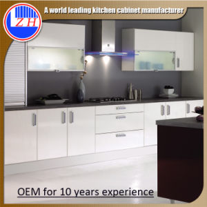 2015 New White Lacquer Kitchen Cabinets (zhuv) pictures & photos