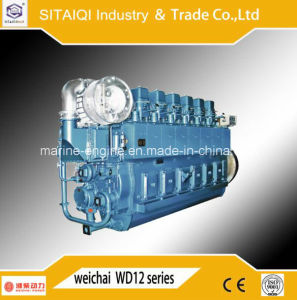Chinese Weichai Xcw12V200zc Marine Engine for Sale pictures & photos