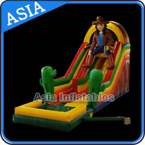 Commercial Grade Cowboy Inflatable Water Slide pictures & photos