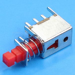 220V Dpdt Momentary Reset Push Button Switch, Push Switch (PS-22F03) pictures & photos