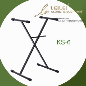 Heavy-Duty Single X Keyboard Stand-Ks-6 pictures & photos