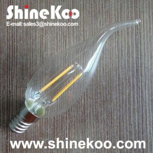 Filament CT35 2W LED Glass Bulb (SUN-2WFC35) pictures & photos