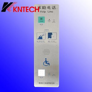 Knzd-16 Help Line Push to Call Intercom Phone Emergency Telephone pictures & photos