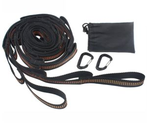 Carries Heavy Duty Hammock Straps with Carabiners for All Hammocks pictures & photos