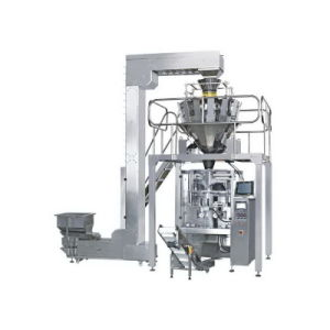 Fish Food Weighing Packing Machinery with 10 Heads Weigher Jy-320A pictures & photos