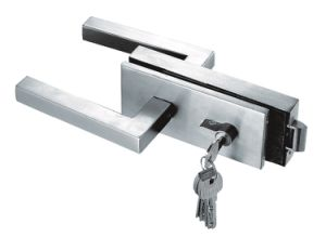 Frameless Glass Door Lock Without Key
