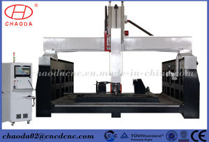 5 Axis CNC Machine, 5 Axis CNC Router 3D Wood Foam Styrofoam Carving pictures & photos