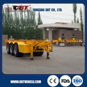 Best Price 40t Flatbed Container Truck Trailer pictures & photos