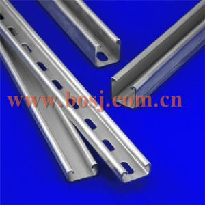 41X41X2.5 Strut Channel Perforated Galvanized Unistruct Roll Forming Production Machine Vietnam pictures & photos