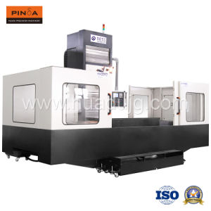 Table Horizontal CNC Machine Center for Metal-Cutting Hh1712 pictures & photos