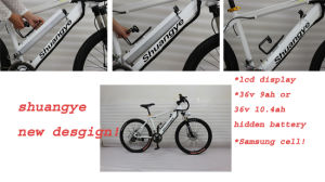 New Design Electric Mountain Bicycle pictures & photos