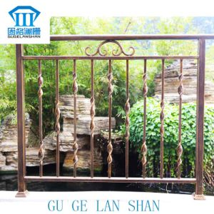 High Quality Crafted Wrought Iron Balcony 017 pictures & photos