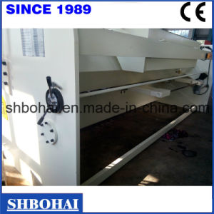 QC12k/Y 8X4000 Hydraulic Shearing Machine, Swing Beam Shear, Guillotine Shear, 8mm Shearing Machine pictures & photos