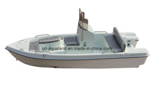 Aqualand 15feet Fiberglass Fishing Boat/Speed Boat/Motor Boat (150) pictures & photos