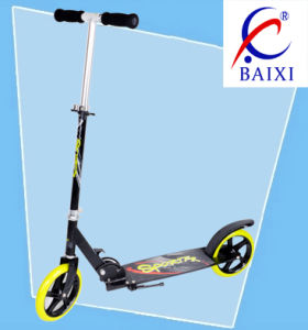 Adult Folding Scooter with Big Wheel (BX-2M001-L) pictures & photos