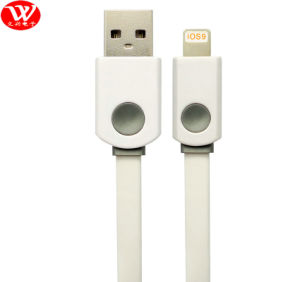 3meters USB Data Cable (flat) with Packing