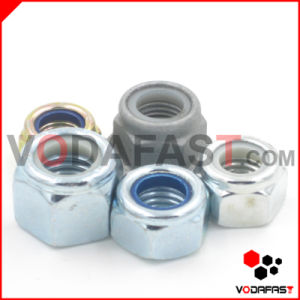Nylon Insert Lock Nuts Zinc Plated H. D. G. pictures & photos