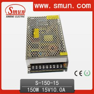 150W 15V 10A Single Output AC-DC Switching Power Supply pictures & photos