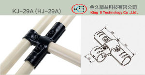 Black Metal Joint for PE Pipe (KJ-29A) pictures & photos