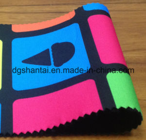 High Quality Other Square Printed Neoprene for Swimwear (STNB-050) pictures & photos