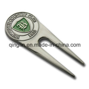 Promotional Plating Color Metal Golf Repair Divot Tool pictures & photos