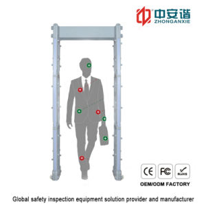 IP55 Portable Metal Detector Security Gate with 7 Inch Touch Screen for Airports pictures & photos