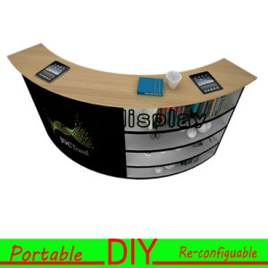 Arc-Shaped Advertising Elegant&Portable Exhibition Display pictures & photos