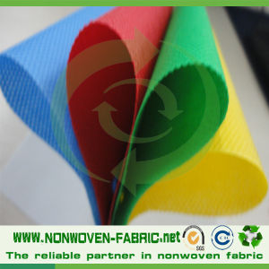 Polypropylene Spunbond Fabric 100% Nonwoven Fabric Textile Manufacture pictures & photos