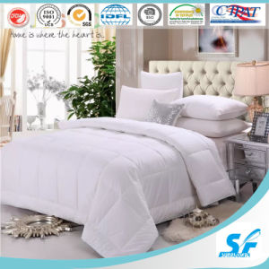 Washable Fiber Down Alternative Comforter for Home Use pictures & photos