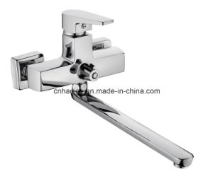 New Model Wall Mounted Single Handle Bathtub Faucet (H02-208) pictures & photos