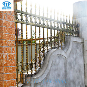 Rust-Proof/Antiseptic/High Quality Created Wrought Iron Fence pictures & photos